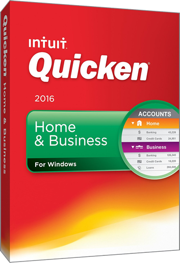 Intuit Quicken Home and Business 2016