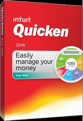 Intuit Quicken Mac 2016
