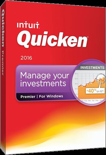 Intuit Quicken Premier 2016