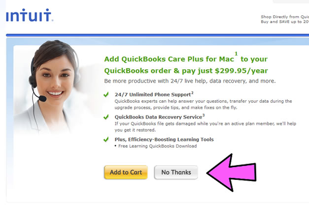 QuickBooks Mac Coupon Code Example 3