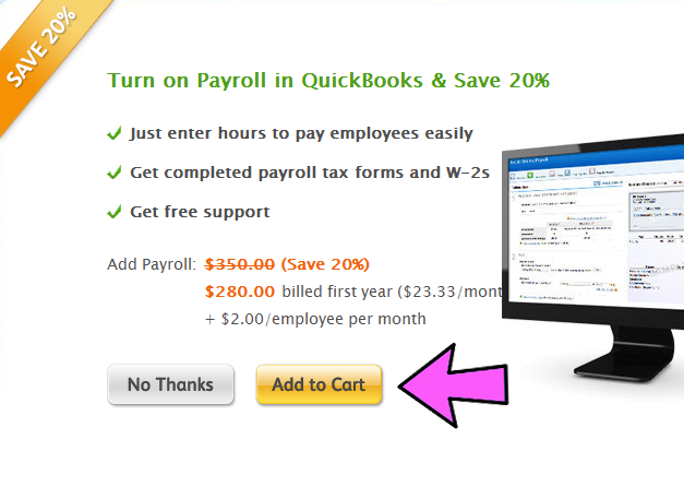 QuickBooks Pro Coupon Code Example 3