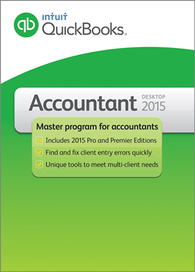 Quickbooks Accountant 2015 box