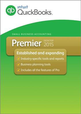 Quickbooks Premier 2015 box