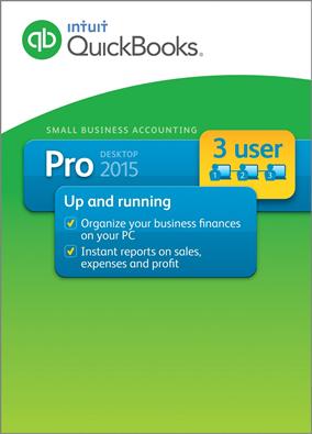 Quickbooks Pro 2015 box