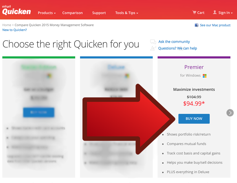 Quicken Premier 2016 - Example 2