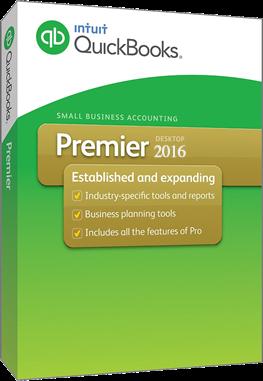quickbooks premier 2016 desktop