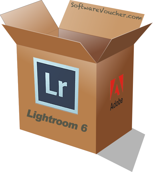 adobe lightroom 6 box