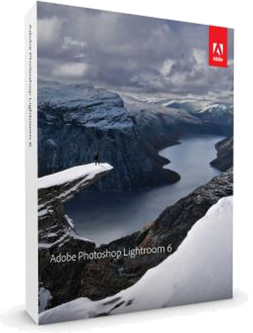 adobe photoshop lightroom 6 box