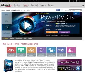 cyberlink powerdvd 15 pro - 1
