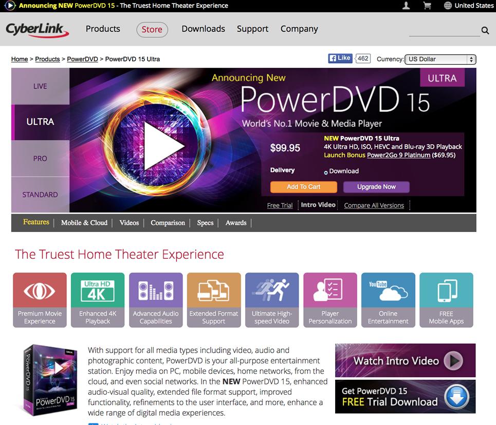 Cyberlink powerdvd 9 ultra great deals