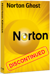 Norton Ghost Discontinued