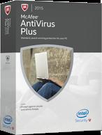 mcafee antivirus plus 2015 box