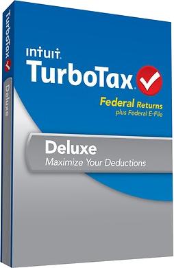 turbotax deluxe box
