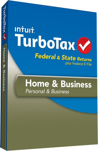 turbotax home and business box