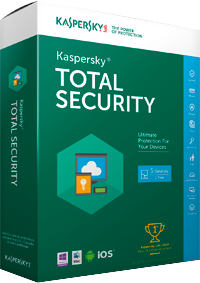 Kaspersky Total Security 2016 Box