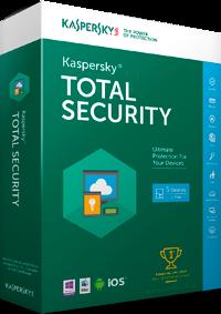 Kaspersky Total Security 2016 Box