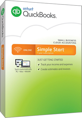 QuickBooks Simple Start 2015