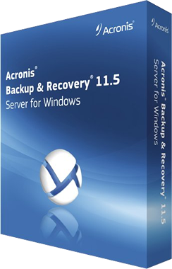 acronis backup and recovery 11.5