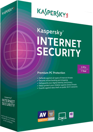 kaspersky internet security 2015 box