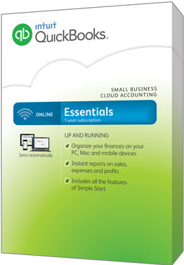 quickbooks online essentials 2016 box