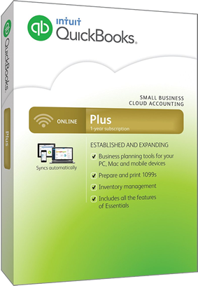 quickbooks online plus 2016 box
