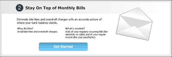 bill reminder in quicken