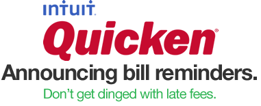 quicken 2015 bill reminder