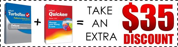 quicken turbotax bundle discount 2014