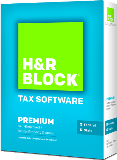 hr block at home premium 2013 box