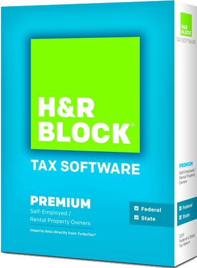 hr block at home premium 2015 box