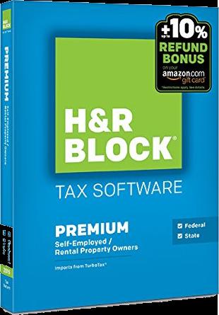 hr block premium 2016 box