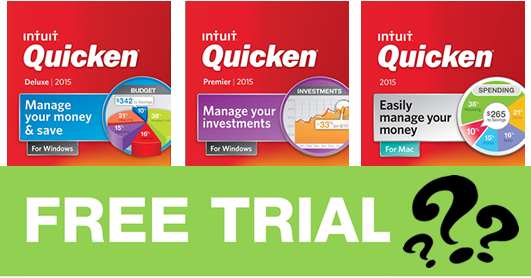 quicken 2015 free trials