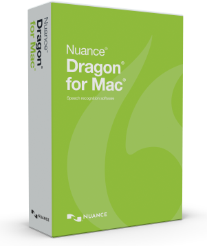 Nuance Dragon for Mac box