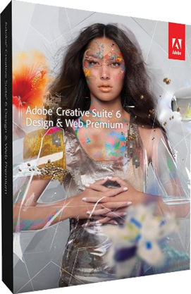 adobe design and web premium cs6 box