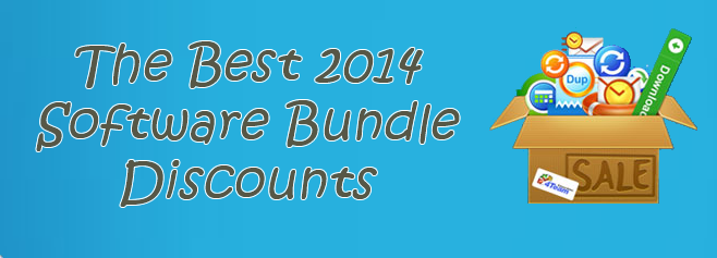 software bundle discounts 2014