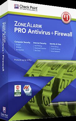 zonealarm antivirus 2016 box
