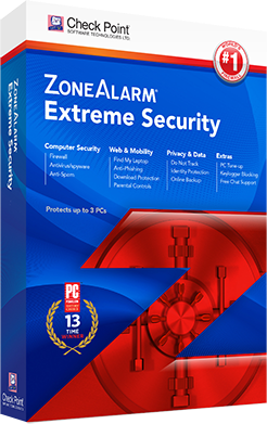 zonealarm extreme security 2016 box