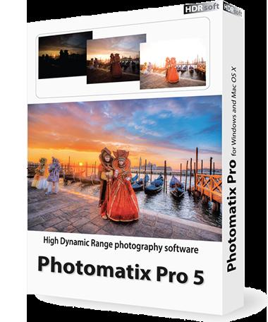 hdrsoft photomatix pro 5 box