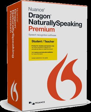 Dragon NaturallySpeaking 13 Student Edition