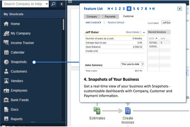 QuickBooks Premier 2015 Screenshot 4