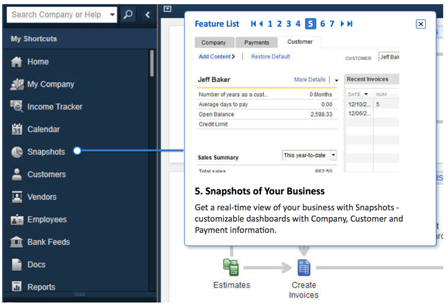 QuickBooks Pro 2015 Screenshot 5