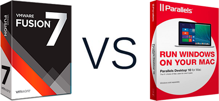 VMware Fusion 7 vs. Parallels Desktop 10 for Mac