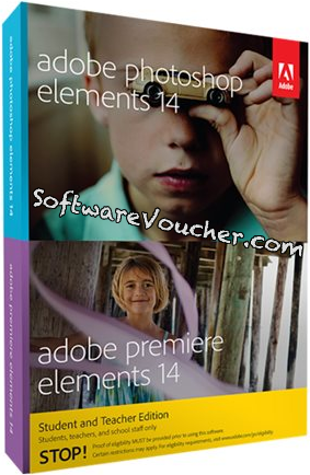 adobe photoshop and premiere elements 14 box student