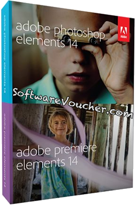 adobe photoshop and premiere elements 14 box