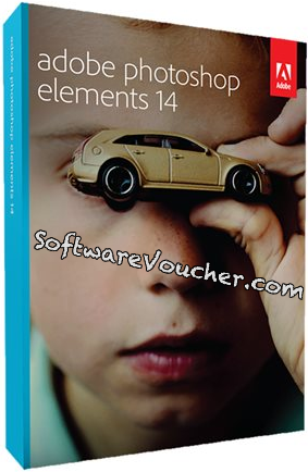 adobe photoshop elements 14 box