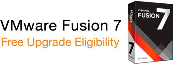 vmware fusion 7 free upgrade eligibility