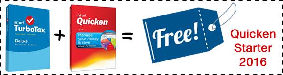TurboTax Quicken 2016 Free