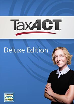 taxact deluxe 2015 box