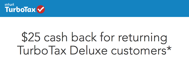turbotax 25 refund for deluxe users 2015