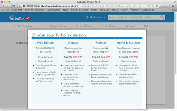 turbotax discount not applied - screenshot 3